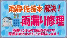 香川県雨漏り修理川田建装