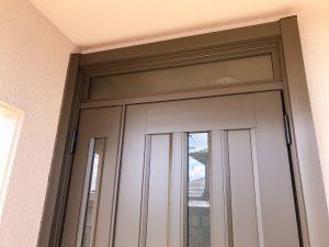 玄関扉枠リフォーム