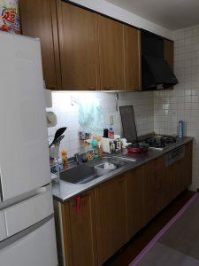 キッチン施工前